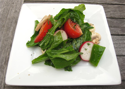 Summer Grilling: Crispy Arugula Salad and London Broil ...