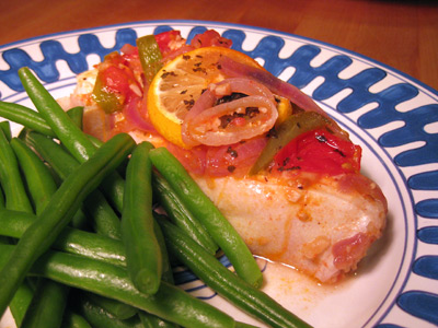 Post image for Baked Halibut