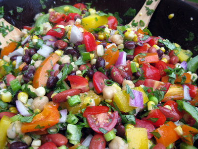 Summer Three Bean Salad