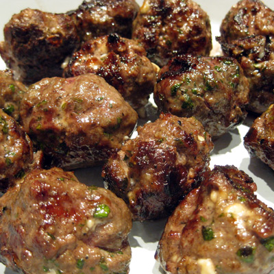 Lamb Meatballs With Yogurt And Pomegranate Seed Sauce Recipes