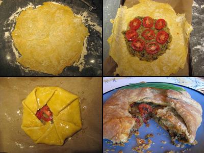 provencal galette process