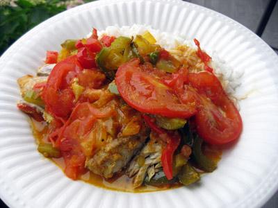 Tilda's Curry Bluefish Stew