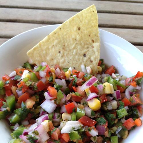Summertime salsa